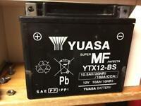 Yuasa YTX12BS motorcycle battery