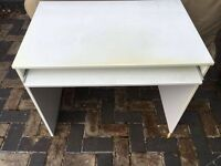 IKEA computer table, used, FREE - collection only.