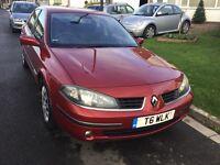 Renault Laguna 1.9 dti turbo diesel dynamiqe 2005 facelift model 5 door hatch mot January taxed