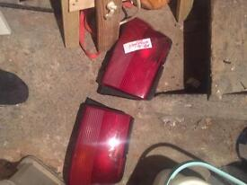 FORD ESCORT REAR TAIL LAMPS 10 POUNDS