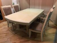 Brunswick Heavy Dining Table With 4 Chairs