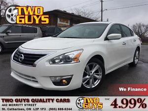 2013 Nissan Altima 2.5 SV MOON ROOF MAGS SPOILER BACK UP CAMERA
