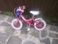 Kids bike pink