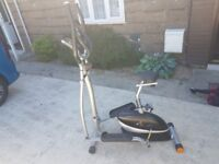V-fit MCCT1 2in1 cycle / elliptical trainer
