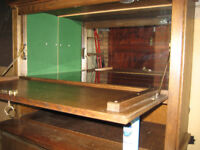 Bar and Cabinet FREE 1990's Solid Wood