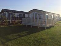 Sandybay 8 berth caravan for weekly rental £400 per week During the summer holidays
