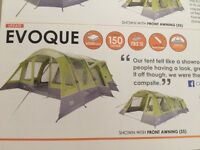 Vango Evoque 600 Airbeam Tent and Eclipse Awning