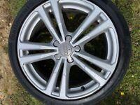 "Audi A3 8V S line alloy wheels 18"""