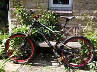 2014 Taokas Lycan Medium Full Suspension All Mountain Bike - Fox, Rockshox, Shimano, Formula, ect.