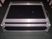 2U rack flightcase
