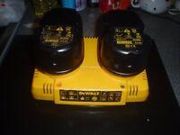 Dewalt DE9216 Dual / Twin Battery charger