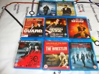 8 BluRay films. All in excellent condition.