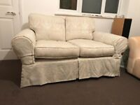 Two matching sofas free collection