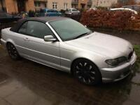 BMW 318i se m:///sport convertible 56 reg 89,000 miles full service history