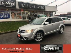 2013 Dodge Journey R/T V6 AWD LEATHER *CERTIFIED*