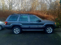 Jeep Grand Cherokee 2.7 OVERLAND CRD 5d AUTO 161 BHP