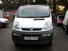 55/2005 Vauxhall Vivaro 1.9 Di 5 Speed, Air-con, Mechanically sound, 124k Miles