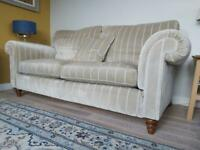 Duresta two matching sofas heavy velvet excellent condition
