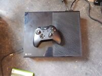Xbox One 500 Gig with Virtually New Controller and All Wires No Games Boxed £120