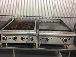 Restaurants closed ! Garland grill , griddle , stove , fridge ,  freezer and much more . Why buy new !