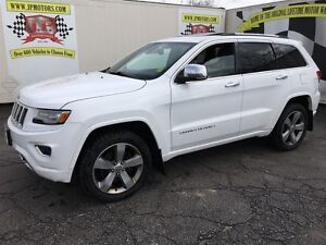 2014 Jeep Grand Cherokee Overland, Automatic, Navigation, Leathe