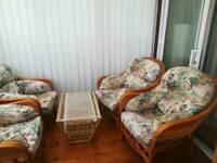 Patio/conservatory set