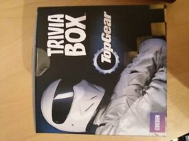 Top gear trivia box. Never used