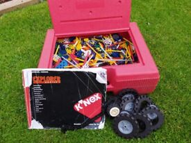 Knex - Large collection with red carry case