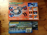 Scalextric Quick build Cops & Robbers & Scalextric Track extension pack 2