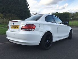 BMW 1 SERIES COUPE 118d, £30 a YEAR ROAD TAX, FULL LEATHER INTERIOR...