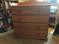 Jan Haman Chest of drawers/baby changing unit