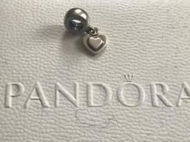 Genuine Pandora Heart Pendant Charm