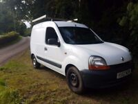 2002 renault kangoo 1.5 dci clean straight van that starts and drives as it should mot sept 2017