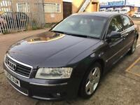 Audi A8 automatic 3.0 diesel f/s/h 4 new tyres winter clean car