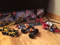 Lego Technic Helicopter Quad and Crane