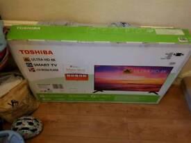 Toshiba 49inch 4k TV
