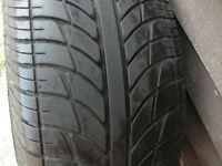 Single tire on sale - great tread - Tyre number is 195/55R15