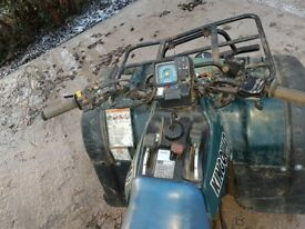 king quad 300 spares or repairs