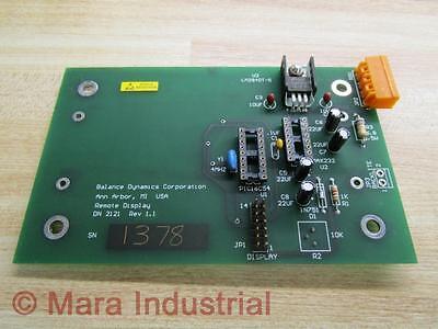 Balance Dynamics Aa03.1765 Circuit Board