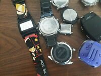 DIGITAL WATCHES CASIOS ETC OR OLD MECHANICAL PARTS ETC