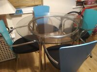 4 x dining chairs (no table)