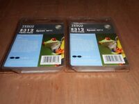 Tesco E312 black computer ink twin pack equivalent to Epson T0711
