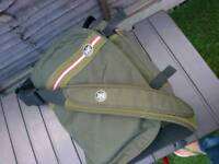 Racing Green Crumpler Laptop Messenger Bag