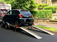 Car trailer, motorhome small car transporter