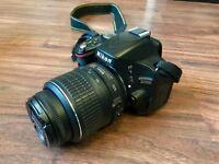 Excellent condition Nikon D5100 for sale