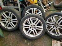 Vauxhall alloys 17s 215/50