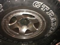 4x4 wheels alloy 6 stud £300 or offers for Mitsubishi Toyota etc L200 Hilux Surf Delica