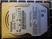 Toshiba Laptop 500Gb 2.5inch internal hard drive HDD