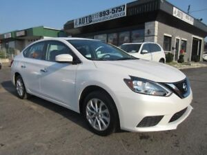 2016 Nissan Sentra SV Sunroof, BT, Automatic, Heated Seats, Came