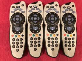 Sky remotes for sale £10 for all 4